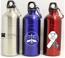 Custom 20 Oz. Stainless Steel Bike Water Bottle with Carabiner
