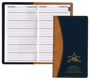 Custom Normandy 2 Tone Soft Vinyl Address Book Cover, 3 5/8