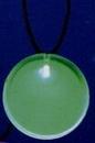 Custom LED Round Badge Necklace