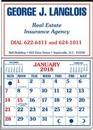 Custom Memo Master Half Apron Calendar - Thru 5/31/12