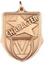 Custom 100 Series Stock Medal (Character) Gold