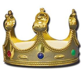 "Gold Crown w/ Round Spires (4"" High), Price/piece"