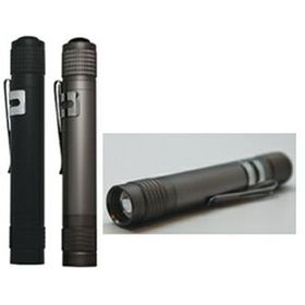 LED ALUMINUM FLASHLIGHT (Laser engraved), Price/piece