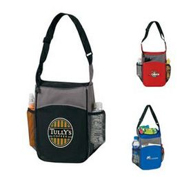 2-tone picnic Insulated lunch bag (Screen Printed), Price/piece