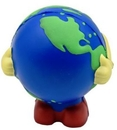 Earthball Man Stress Reliever Toy