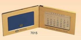 Brass Perpetual Calendar & Photo Frame (Screened), Price/piece
