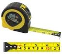 Custom Retractable English/ Metric Power Tape Measure - Dome Label (25' Blade)