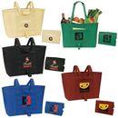 Custom Easy Fold Up Shopping Tote 22