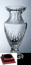 Custom Vision Vase on a Rosewood Base - Italian Lead Crystal (13