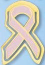 Custom Breast Cancer Awareness Ribbon Bookmark