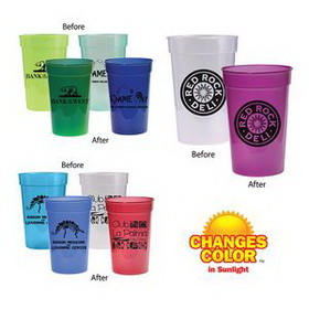 17 Oz. Sun Fun Stadium Cup (Spot Printed), Price/piece