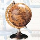 Custom Globe With Brass Swivel Stand, 9