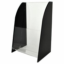 Custom Tri Fold Literature Holder, 4 3/8