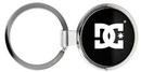Custom Round Metal Keychain, 1 3/4