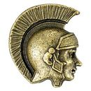 Blank Trojan/ Spartan Mascot Fully Modeled 3 Dimensional Pin