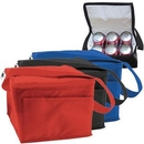 Custom 6 Can Collapsible Cooler Lunch Bag (5 1/2