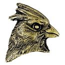 Custom Cardinal Mascot Fully Modeled 3 Dimensional Pin