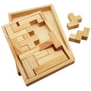 Custom Shapes Challenge Wooden Puzzle