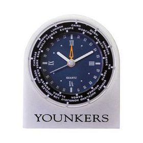 Cast Aluminum World Time Alarm Clock, Price/piece