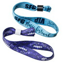 Custom Secure Closure Dye-Sub Wristbands, 5/8