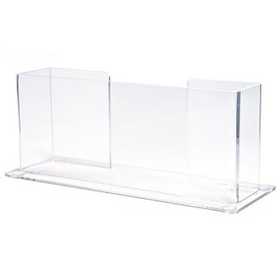 "Single Horizontal Counter Brochure Holder (9""x4""x2""), Price/piece"