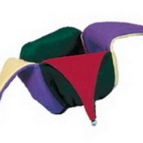 Felt Jester Crown Reversible Novelty Hat with Elastic Band, Price/piece