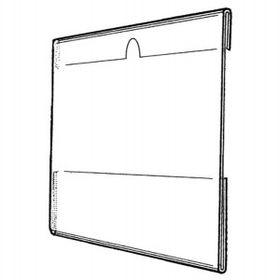 "Vertical Side Loading Wall Poster Frame with Notch (5""x7""), Price/piece"