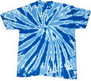 Blank Royal Twist Tye Dye T-Shirt