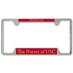 "LarLu Metal License Plate Frame, 6 1/4"" X 12 1/4"", Price/piece"