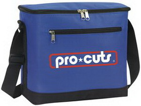 12 Can Cooler Bag, 600 Denier Polyester With Pvc Backing, Price/piece