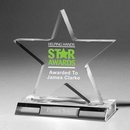Custom Large Star Award - Screen Print
