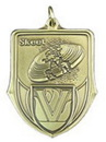 Custom 100 Series Stock Medal (Skeet) Gold, Silver, Bronze