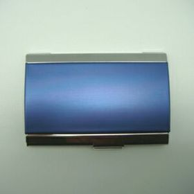 Aluminum Business Card Case (Engraved), Price/piece