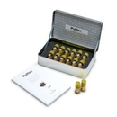 Custom White Wine Essences Collection Kit with 12 Vial Jars (Laser Engraved)