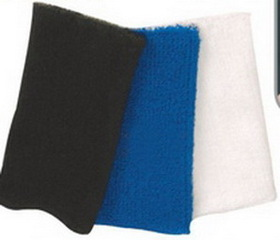 "Goodview Elastic Moisture Absorbing Sports Band, 4-1/8""x3-1/8"", 100% Terry Cotton, Price/piece"