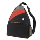 Custom B-6420 Large Sling Backpack with Large Main Zipper Compartment, Velco Closure Front Pocket, Ipod Port