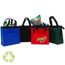 Custom B-6505 Cooler Bag with Hot/Cold Lining, Open Front Pocket, Zippr Closure, Drop In Board Insert