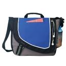 Custom B-8368 Messenger Bag, 600D Polyester w/Heavy Vinyl Backing