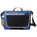 Custom B-8372 Deluxe Messenger Bag, 600D Polyester w/Heavy Vinyl Backing