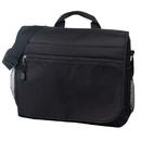 Custom B-8373 Deluxe Messenger Bag, 600D Polyester w/Heavy Vinyl Backing