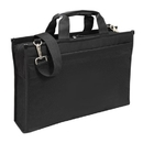 Custom B-8374 Deluxe Computer Briefcase 600D Polyester w/Heavy Vinyl Backing