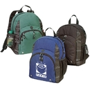 B-8437 Poly Backpack, 600D Polyester w/Heavy Vinyl Backing