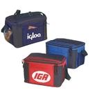 B-8525 12 Pack Cooler Bag, Front Pocket with Two Mesh Pocket