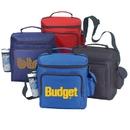 Custom B-8529 6 Pack Cooler Bag 70D Polyester with Heavy Vinyl Backing