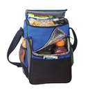 B-8544 Deluxe Poly Cooler Bag with Lunch Bag, 600D Polyester with Heavy Vinyl Backing