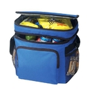 Custom B-8545 Deluxe Poly Cooler Bag with Lunch Bag, 600D Polyester w/Heavy Vinyl Backing