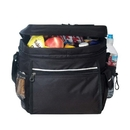Custom B-8547 24-Pack Cooler with Easy Access & Cell Phone Pocket 600D Polyester w/Heavy Vinyl Backing
