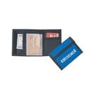 Custom B-8602 Bi-Fold Wallet Wallet w/Coin Compartment Velcro Closure 420D Nylon