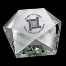 Custom DY-2064 Crystal Star Paperweight
