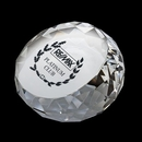 DY-2065 Round Diamond Crystal Paperweight